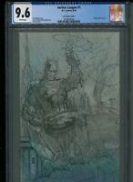 JUSTICE LEAGUE #1 CGC 9.6 NM+ SKETCH VARIANT 1:500 JIM LEE Pencils! BATMAN Cover
