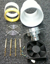 Tube socket,fan,chimney for GI-46b  Heathkit SB-221 Kenwood TL-922 KK4NOZ 3-500z