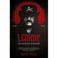 """VERY GOOD"" Wall, Mick, Lemmy: The Definitive Biography, Book"