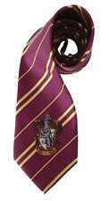 HARRY POTTER Gryffindor House Hogwarts Emblem Maroon NECKTIE Tie