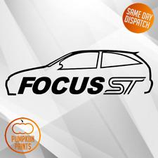 Mk1 Focus Silueta Pegatina-Para Ford Focus ST170 | Zetec | 3 puertas