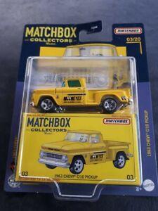 Matchbox Collectors 1963 Chevy C/10 Pickup 2021 NEW MBX Mooneyes