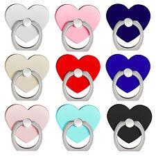 Handyhalter Ring Herz Heart 360° Rotation Handyständer Fingerring Grip Ständer