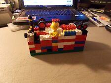 LOT OF 14 OUNCES OF LEGO ASSORTED PIECES FIGURE , WINDOW ,WHEELS  ,BRICKS