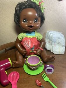 BABY ALIVE MY BABY ALIVE DOLL Brunette English/Spanish Drink, Eat,Pees