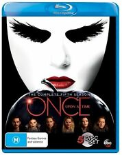Once Upon A Time : Season 5 (Blu-ray, 2016, 6-Disc Set)