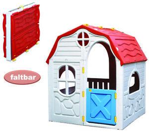 Faltbares XL Spielhaus Kinderspielhaus Gartenhaus für Kinder - NEU