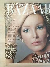 """Magazine Harper's BAZAAR August 1965 """"IN FASHION"""" Collector Vintage Mode"""