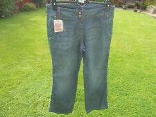 Boden Ladies Fabulous bootcut jeans indigo blue WC168 UK 12L EXCELLENT CONDITION