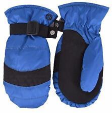 NEW Gucci Children's 361007 Blue Black Technical Ski Gloves SIZE 8