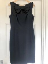 MOSCHINO Black Dress With Bow UK 10
