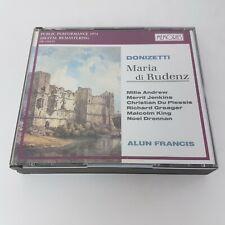 Donizetti Maria di Rudenz 2 CD Box (1995) MEMORIES Nuova Era Alun Francis