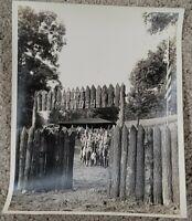 VINTAGE ORIGINAL 1960 BOY SCOUTS 8X10 PICTURE FORT MCINTOSH BEAVER PENNSYLVANIA