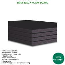 5MM A1 BLACK FOAM BOARD (10 in a pack), High Density Foam, Eco Friendly