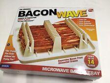 Emson Original Bacon Wave Microwave Bacon Tray