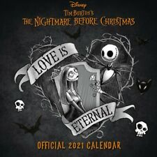 The Nightmare Before Christmas NBX Square Calendar 2021 30x30cm