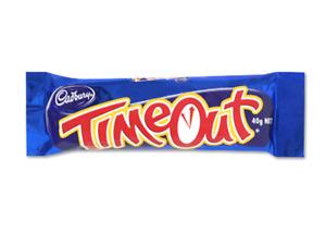 Cadbury Time Out Bar 40g Box of 40