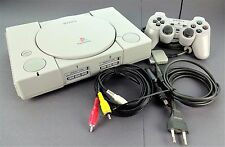 Playstation 1 Konsole SCPH-1002 + Sony Dualshock Controller + Kabel  / PS1