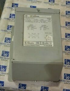 New GE Transformer 1 Phase Encapsulated 0.75 KVA 120/240 to 12/24 9T51B0109