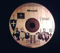 Age of Empires II The Age of Kings CD-Roms PC Game Rare Disc Only French