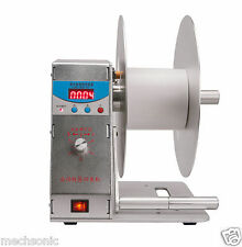 Digital Automatic Label Tags Rewinder Rewinding Machine w/ Speed Adjustable