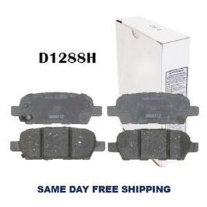 REAR Brake Pad For EX35,G35,FX35; 370Z,Altima. CERAMIC W.HARDWARE