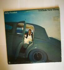 BILLY PRESTON   -  A WHOLE NEW THING  -   LP   AM SP4656  CANADA  1977  FIRST