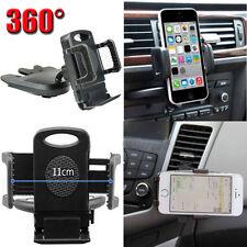 Universal Car CD Slot Mobile Phone GPS Sat Nav Stand Holder Mount Cradle