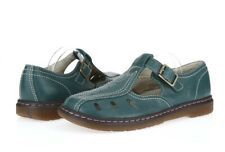 DR. MARTENS Green Leather Casual Shoes Sz M 8/ W 9 NEW!