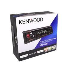 Kenwood KDC-168U 1-DIN Car Stereo In-Dash CD AM/FM MP3 USB Multimedia Receiver