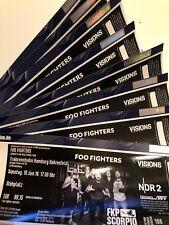 2 (4/6/8) Tickets Foo Fighters / Hamburg / 10.06.2018
