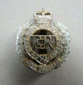 Military Anodised Cap Badge Royal Engineers  Brigade British Army