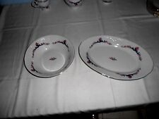 Menuet Poland Royal Vienna Collection Serving Dishes (2 Pcs.)