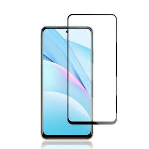 Pellicola protezione schermo vetro trasparente BORDO NERO per Xiaomi Mi 10i 5G