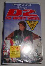 Disney's D2 The Mighty Ducks VHS New Still Sealed Emilio Estevez Clamshell
