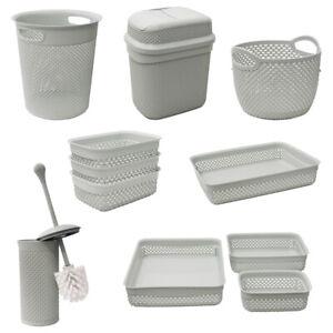 JVL Droplette Design Plastic Storage
