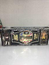 Jacks Pacific WWE U.S. Championship Belt Matches Booker T & Chris Benoit