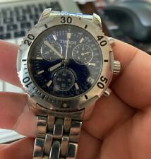 Tissot PRS200 Quartz Chrono T362/462 Mens Watch Silver tone Collectible