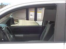 1 Pair Black Chevy Colorado Pickup Sun Visor Extenders to Block Side Window Sun