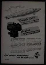 1946 LINK Aviation Flight Trainer Simulator AD Dirigible R-34