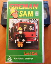 FIREMAN SAM - LOST CAT - VHS