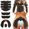 EMS Stimulator ABS Abdominal Muscle Trainer Toning Belt Smart Home Training 209#