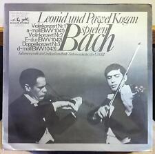 LEONID & PAWEL KOGAN bach violin concerto LP Mint- 85953 MK Rare German Melodia