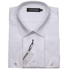 "Paradigm Pure Cotton Non-Iron DC Formal Shirt/White - 22"" SRP £55.00"