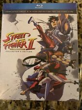 Street Fighter II The Animated Movie Blu Ray Official Discotek Release