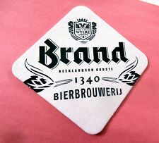 Brand Beer Brewery Oldest Brewery in the Netherlands New Coaster / Beer Mat