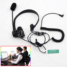 New Over-Head Earpiece/Headset Boom Mic VOX For Cobra Radio CXR950 FRS132 FRS237