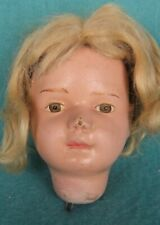 Schoenhut Character Doll Head With Painted Eyes