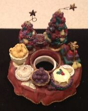 Old Virginia Candle Capper Holiday Fruit Gently Used