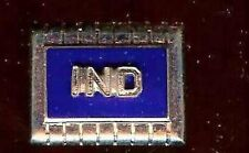 IND letters initials   old SINGLE Cufflink